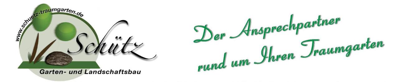 Schütz Garten- und Landschaftsbau GmbH