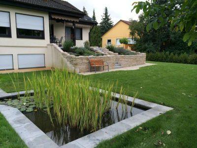Umgestaltung Kress - Schütz Garten- und Landschaftsbau GmbH